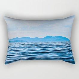 Arran View | Musical Crime Productions | Scottish Landscape Photography Prints Rectangular Pillow
