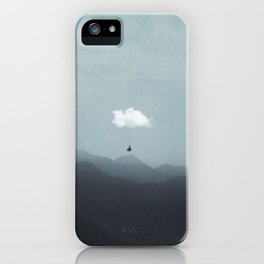 cloud  gliding iPhone Case
