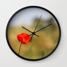Poppy n.2 Wall Clock