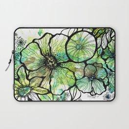 Lime Bouquet Laptop Sleeve