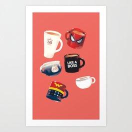 Workday Persona  Art Print