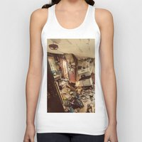 kitchen Tank Tops featuring Chaotic Kitchen by Shaun Lowe