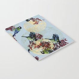 Little Blue Birds Notebook