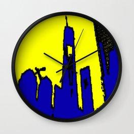 Metro abstract Wall Clock
