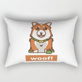 Cute Pembroke Cardigan Welsh Corgi Pet Dog Lover Rectangular Pillow