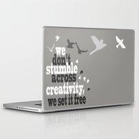 creativity Laptop & iPad Skins featuring Creativity by Celina Lopez