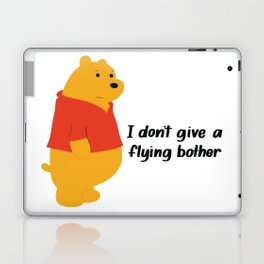 I dont give a bother Laptop & iPad Skin