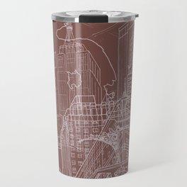 New York! Clay Travel Mug