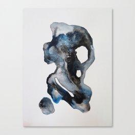 Sea Stones - Watercolor Canvas Print