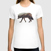 andreas preis T-shirts featuring Norwegian Woods: The Wolf by Andreas Lie