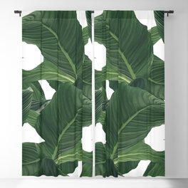 palm waves Blackout Curtain