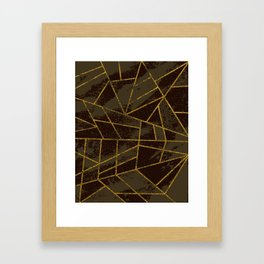 Abstract #941 Framed Art Print
