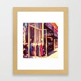 Melrose St, Los Angeles, CA Framed Art Print
