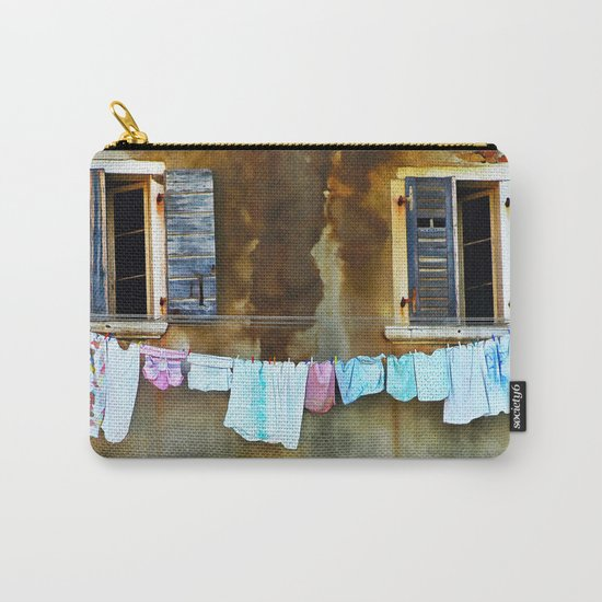 Clothes Drying Carry-All Pouch