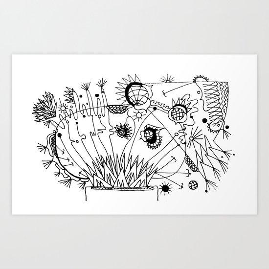 Trip the Light Fantastick Art Print