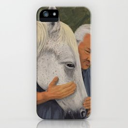 Equine Friend iPhone Case
