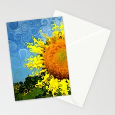 The Day of the Sunflower Stationery Cards