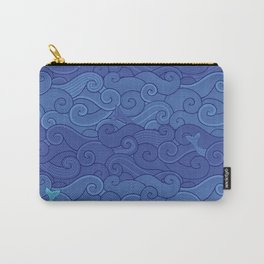 Surf Side - NAVY Carry-All Pouch