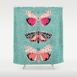 Lepidoptery No. 6 by Andrea Lauren Shower Curtain