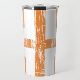 Byzantine Cross Travel Mug