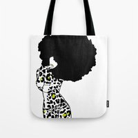 egypt Tote Bags featuring egypt by Olive Paperie