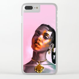 Twiggy Clear iPhone Case
