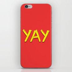 FryYAY! iPhone & iPod Skin
