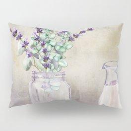 Country Lavender and Eucalyptus Pillow Sham