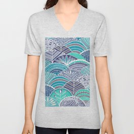 Footprints Unisex V-Neck