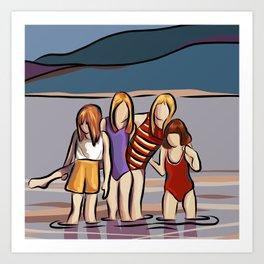 Cousins Art Print