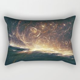 Cosmic.Ocean Rectangular Pillow