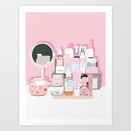 Sort of Obsessed Top Shelf Art Print