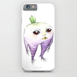 turnip baby iPhone Case