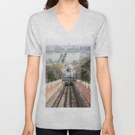 Funicular. Unisex V-Neck