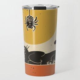 Spider came down Travel Mug