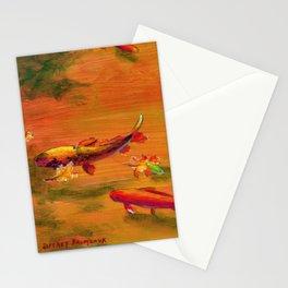 Small Koi Pond 21 Stationery Cards