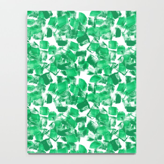 Mindi - painterly painting abstract minimal monochromatic bright boho modern brushstrokes art Notebook