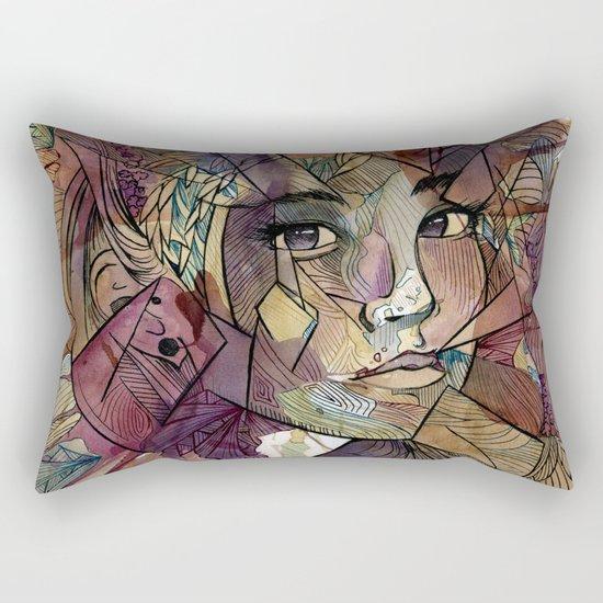 Say No More Rectangular Pillow