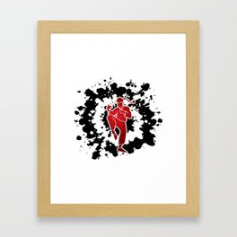 Surely Not Everybody Was Kung Fu Fighting Framed Art Print