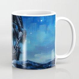 Black Pearl Starry Night Coffee Mug
