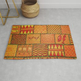 Puzzle Of Life Rug
