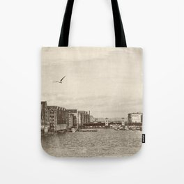 A postcard from Trondheim Tote Bag