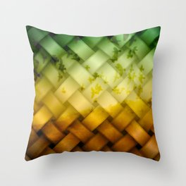 Birds on the Road Throw Pillow