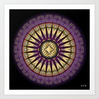 Fleuron Composition No. 225 Art Print
