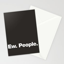 Ew. People Stationery Cards