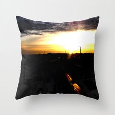 Fire in the sky(1) Throw Pillow