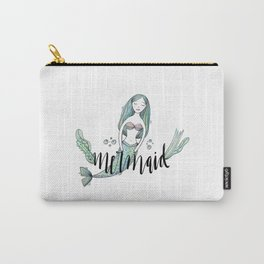 Art sleeping mermaid Carry-All Pouch