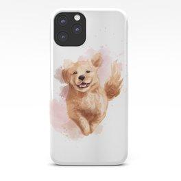 Golden Retriever Puppy iPhone Case