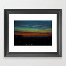 Amazing View  Framed Art Print