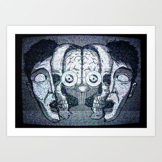 Expand your mind Art Print
